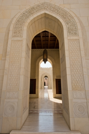 muscat: Sultan Qaboos Grand Mosque in Muscat, Oman