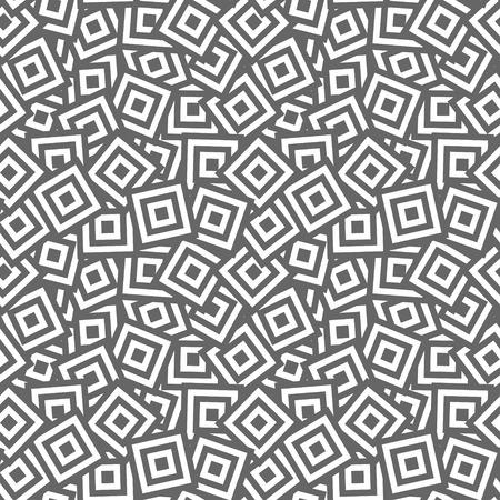 op art: Rectangles texture  Seamless geometric pattern  Vector art