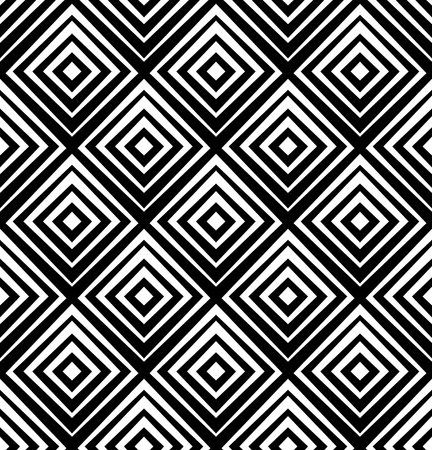 Seamless pattern with squares. Vector abstract background.