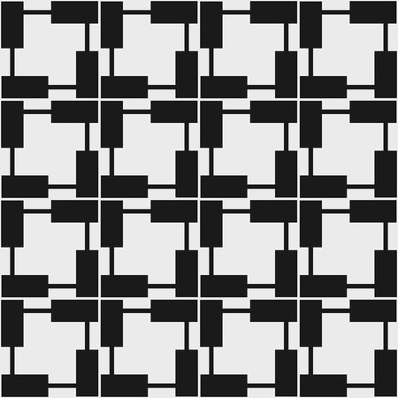 Seamless pattern geometrici in art design op. Illustrazione vettoriale. Vettoriali
