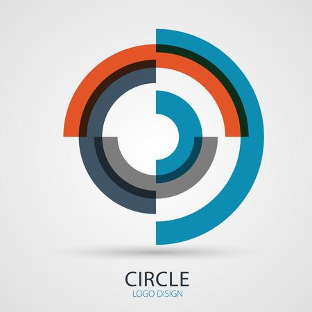 Vector spiral  design, business symbol concept