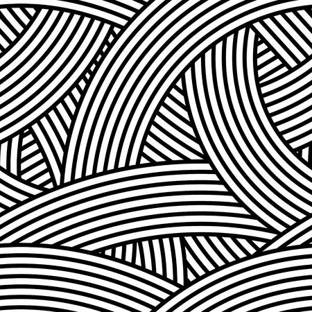 シームレスな波状パターン図
