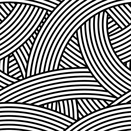 fascia: Seamless wavy pattern Illustration