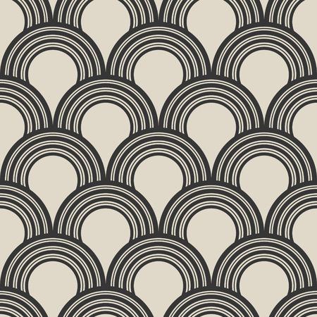 抽象的なシームレスな飾りパターン。