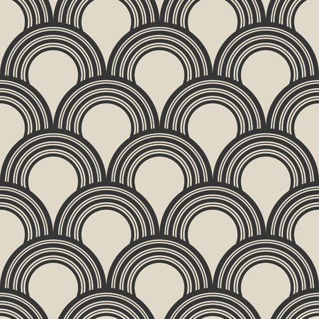 Abstract seamless ornament pattern.