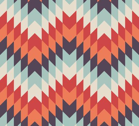 シームレスな幾何学的な菱形のパターン背景の色  イラスト・ベクター素材