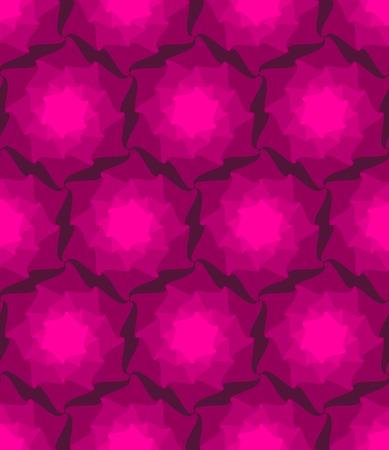 ベクターのシームレスなパターン。抽象的なスタイリッシュな背景