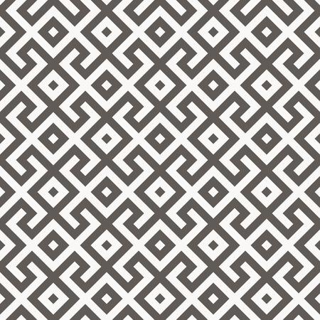 ベクターのシームレスなパターン。アラビア語の幾何学的なテクスチャー。イスラム美術  イラスト・ベクター素材