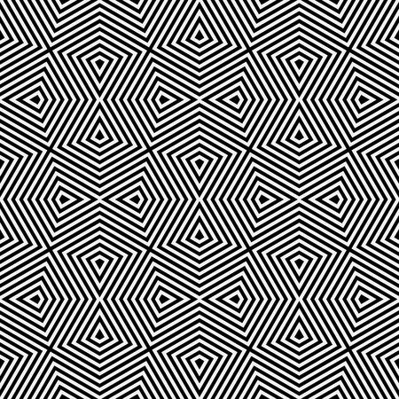 seamless pattern. Modern geometric texture. Opt Art