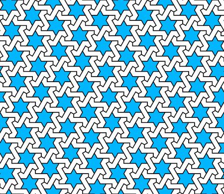 islam, asia, arabic, turkish, ramadan vector seamless pattern Ilustrace