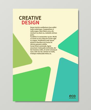 抽象的な三角形とベクトル ビジネスの背景  イラスト・ベクター素材