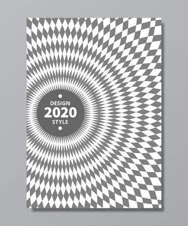 vortex, swirl, rotary vector  background. swirl poster design in retro trendy style
