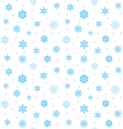 beautiful snowflake vector seamless backdrop happy christmas wrapping design
