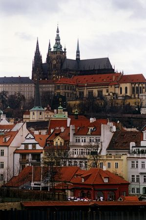 dome type: Details of Prague city 5