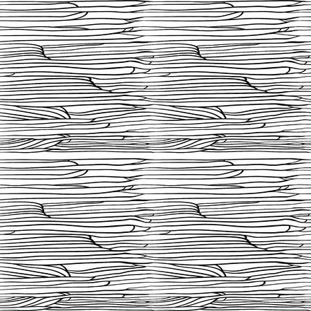 seamless abstract pattern. pattern similar to the bark of a tree or water waves or hair. suitable for coloring book Vetores