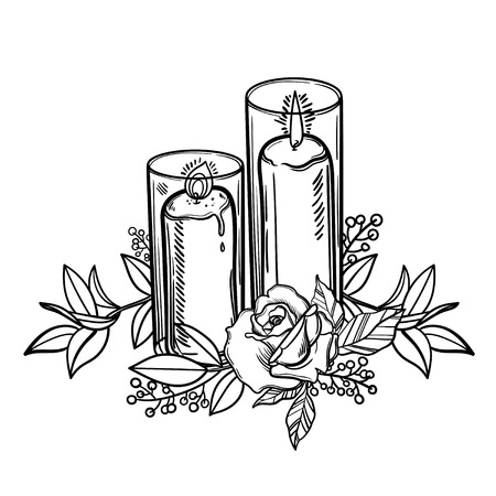 187 Burning Rose Stock Illustrations Cliparts And Royalty Free