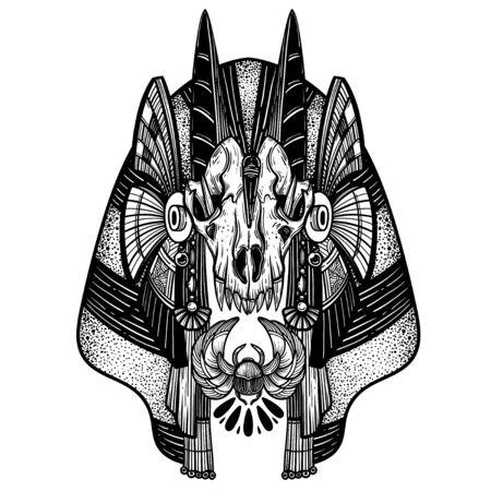 Anubis. Guardian of the Underworld.