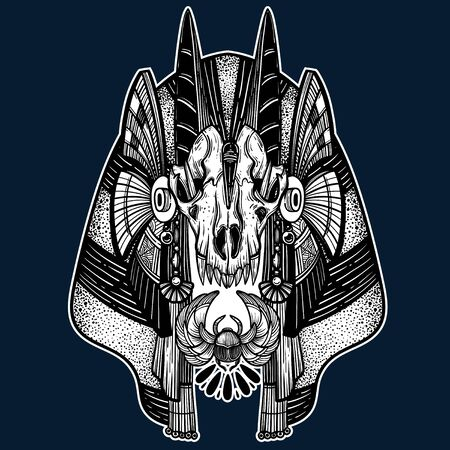 Anubis. Guardian of the Underworld.