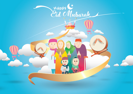 happy muslim family cartoon stock photos and images 123rf happy muslim family cartoon stock