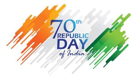 Creative Poster, Banner or Flyer for Republic Day of India 26 January celebration with modern design