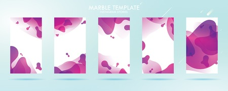 wave liquid template collection with gradient splashes for story, can use for sale banner background, photo, summer sale , website, mobile app, poster, flyer, coupon, gift card - Vector Banque d'images - 123253818