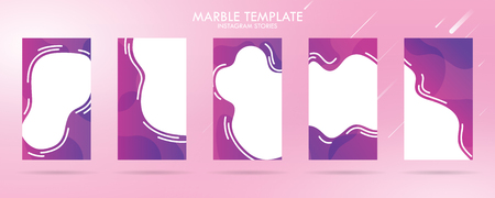 story with wave liquid and gradient splashes collection for , can use for sale banner background, photo, summer sale , website, mobile app, poster, flyer, coupon, gift card - Vector Banque d'images - 123253824
