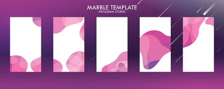 wave liquid template collection with gradient splashes for story, can use for sale banner background, photo, summer sale , website, mobile app, poster, flyer, coupon, gift card - Vector Banque d'images - 123253836
