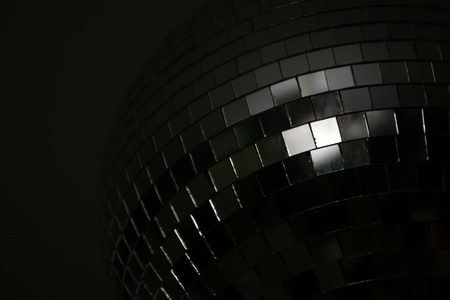 Detail of disco ball from the dark side photo