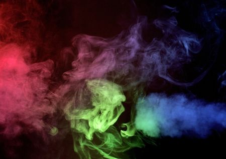 Abstract smoke background Stock Photo - 17017255