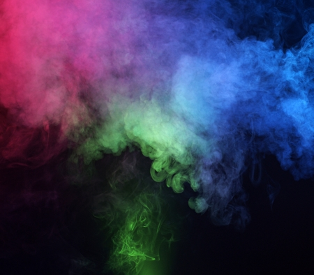 Abstract smoke background photo