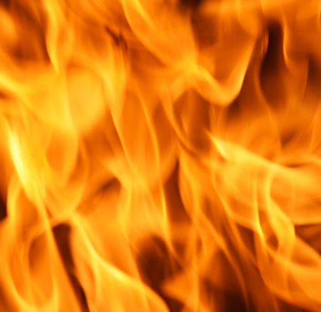 Blaze fire flame texture background  Stock Photo - 17265039