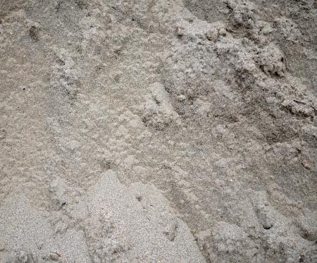 nonuniform: Gray non-uniform dirty sand
