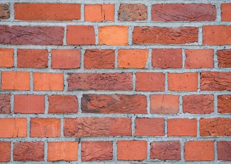 Red old brick wall texture Stock Photo
