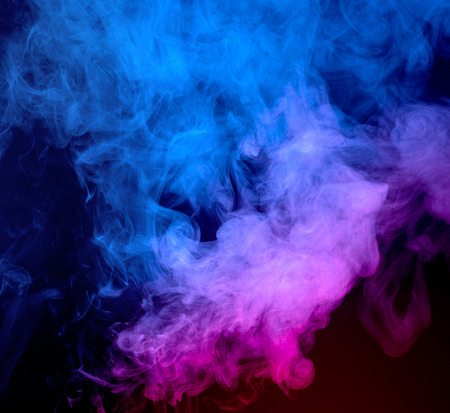 vanish: Abstract smoke on a dark background