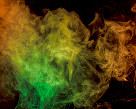 Abstract smoke on a background photo