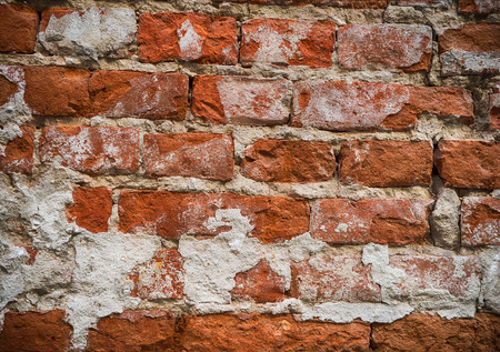 Background of brick wall texture. Abstract background for design Stock Photo