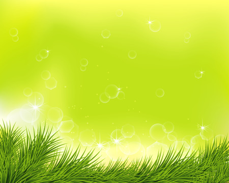 sumer: abstract sumer background with green grass