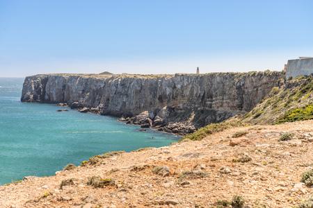 algarve: Coastline and beach in Sagres, Algarve, Portugal
