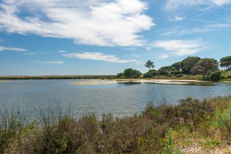 lago: Quinta do Lago landscape, in Algarve, Portugal