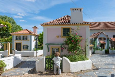 COIMBRA, PORTUGAL - APRIL 29, 2014: Portugal dos Pequenitos in Coimbra, Portugal Editorial