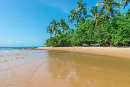 beachfront: Natural pools in Barra Grande Beach at the Peninsula de Marau, South Bahia in Brazil