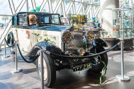 Saint Petersburg, USA - jun 16, 2018: Car view at the Salvador Dali museum in St Petersburg