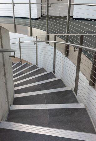 Saint Petersburg, USA - jun 16, 2018: stairs of the Salvador Dali museum in St Petersburg