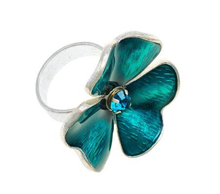 trefoil: Jewellery, ring in the form of trefoil