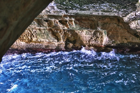 hanikra: The white chalk cliffs and underground grottoes Rosh Hanikra