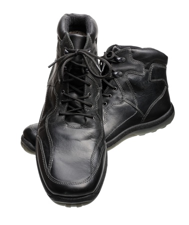 men s boot: Men Stock Photo