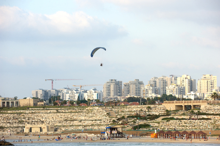 Ashkelon, a city in Israel on the Mediterranean Sea