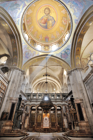 Church of the Holy Sepulchre, the main Christian shrine in Jerusalem Stock Photo - 74752304