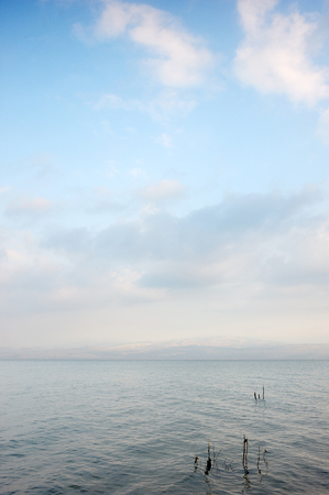 Sea of Galilee (Kinneret), the largest freshwater lake in Israel
