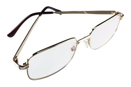 Spectacles (isolated) Stock Photo